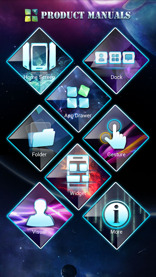 Next Launcher 3D Manuals- screenshot