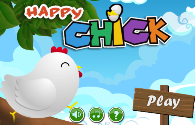 Chick Jump- screenshot