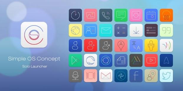 Simple OS Concept Theme