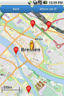 Bremen Amenities Map (free)- screenshot thumbnail