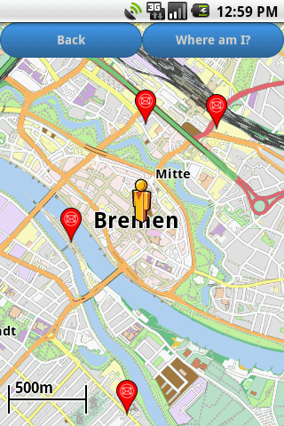 Bremen Amenities Map (free)- screenshot