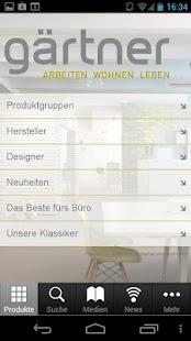 Gärtner Design Möbel- screenshot thumbnail