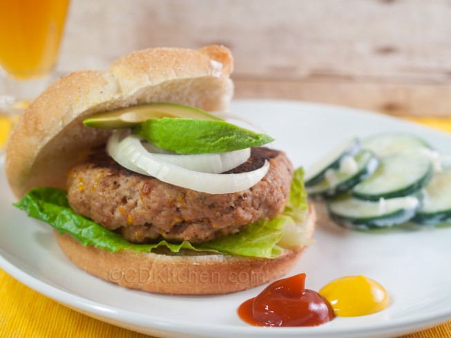 Turkey Brew Burgers Recipe