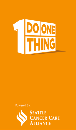 Do One Thing by SCCA