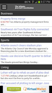 Breaking News from The AJC - screenshot thumbnail