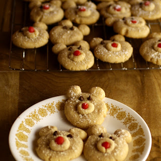 Cinnamon Polar Bear Cookies