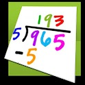 Math flash cards lite (Tablet) logo