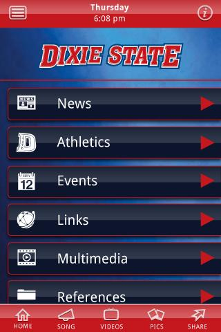 Dixie State University- screenshot