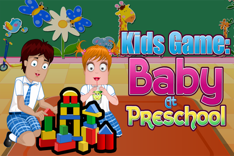 Kids Game : Baby At Preschool