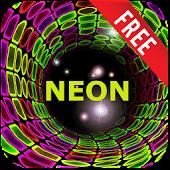 Neon Tunnel Live Wallpaper
