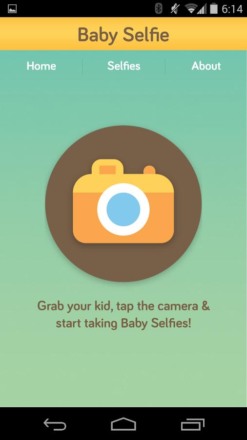 Baby Selfie - screenshot