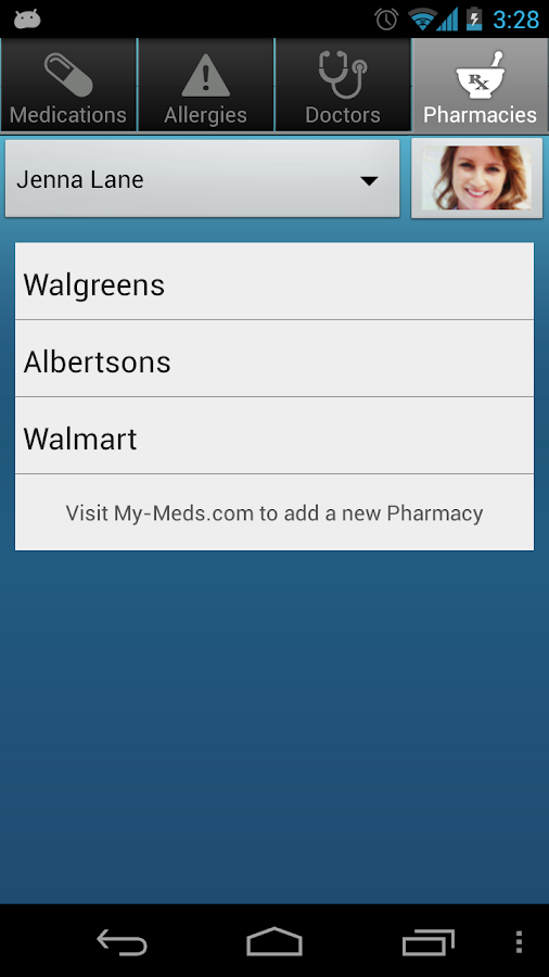 MyMeds - screenshot