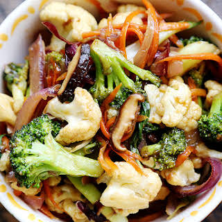Broccoli Cauliflower Stir Fry Recipes.