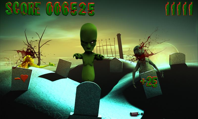 Zombie Takedown- screenshot