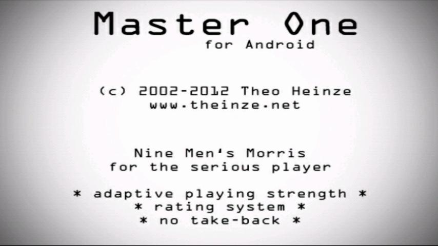 Master One Nine Men's Morris- screenshot