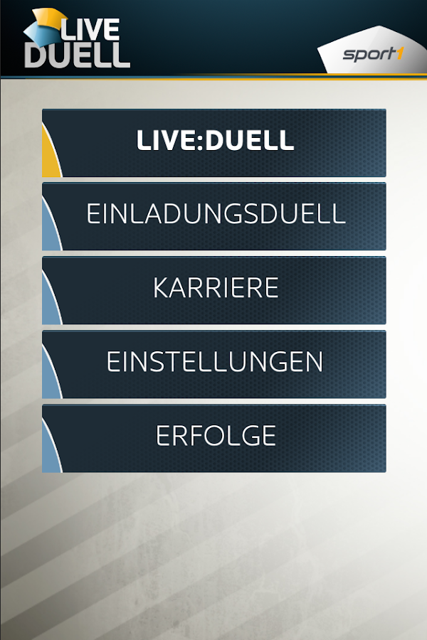 SPORT1 Live-Duell- screenshot