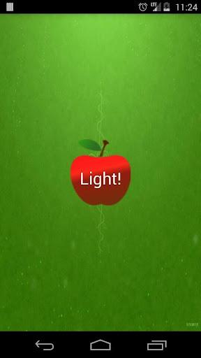 애플 라이트 FlashLight 플래시 라이트