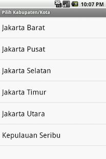 Kode Pos Indonesia - screenshot thumbnail