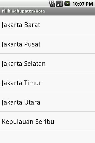 Kode Pos Indonesia- screenshot