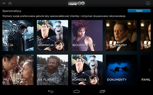HBO GO Poland- screenshot thumbnail