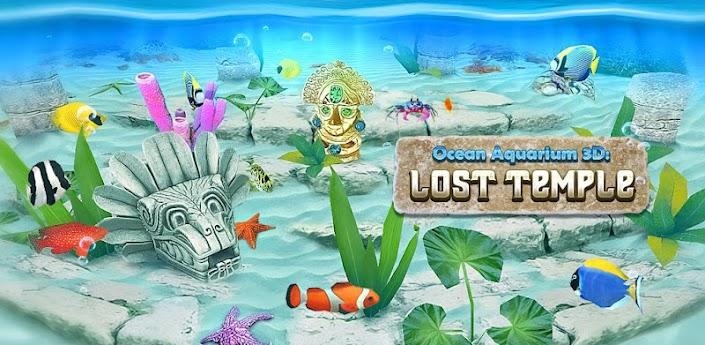 Ocean Aquarium 3D: Lost Temple apk