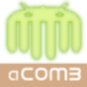 Android music comb (aCOMB) logo