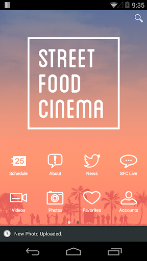 Street Food Cinema App