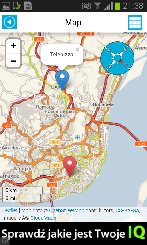 Portugal Offline Map Weather Android Apps On Google Play - Portugal map english