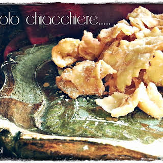 Chiacchiere - Carnival Ribbon Fritters.