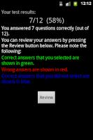 Screenshot of LPI Exam 101 Trainer
