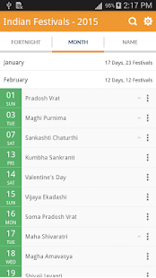 Indian Festivals - 2015 - screenshot thumbnail