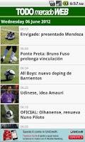 Screenshot of TODO Mercado WEB