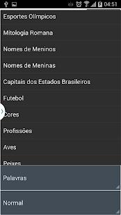 Caça Palavras Brasileiro- screenshot thumbnail