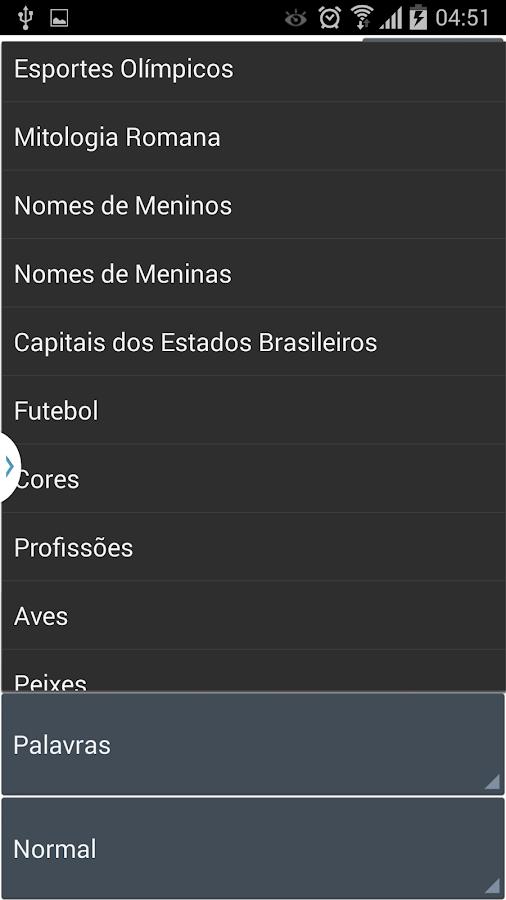 Caça Palavras Brasileiro- screenshot