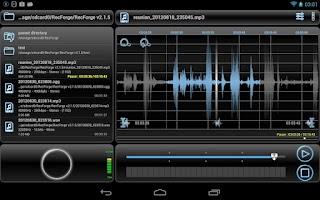 Screenshot of RecForge Pro - Audio Recorder