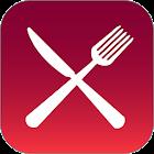 グルメサイト一括検索の「グルメリア」。無料の評価ソート機能付 icon
