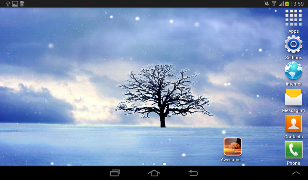 Awesome-Land : Beautiful Nature Live wallpapers- screenshot