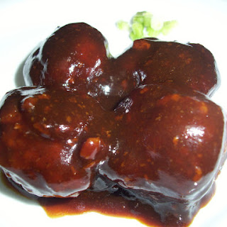 Chinese Hoisin Meatballs
