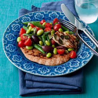 Two-Bean Greek Salad.