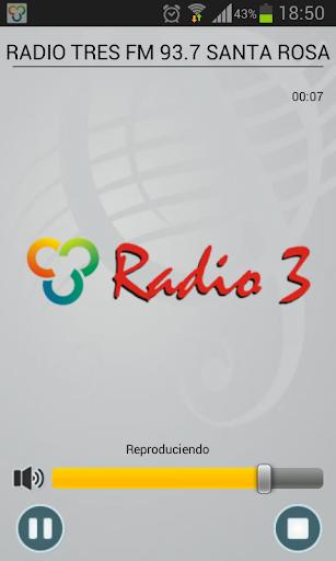Radio Tres FM 93.7 Santa Rosa