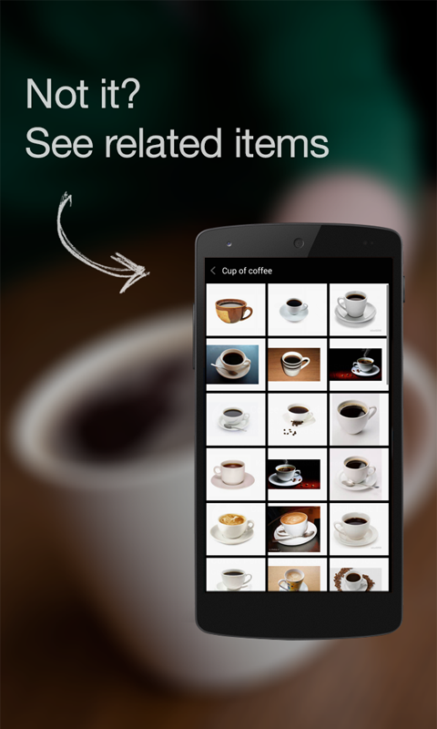 CamFind - Visual Search Engine - screenshot