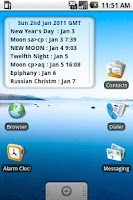 Screenshot of Pagan Calendar Pro
