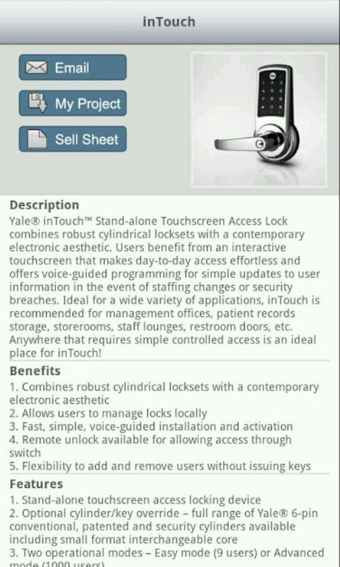 Security Continuum Mobile- screenshot