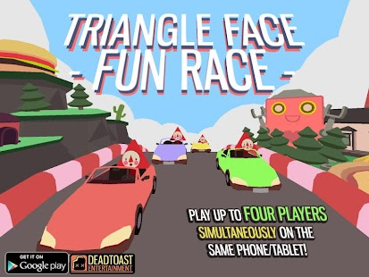 Triangle Face Fun Race- screenshot thumbnail