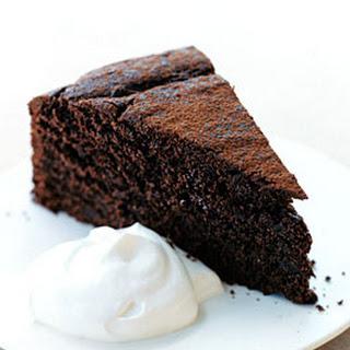 Chocolate Espresso Spelt Cake