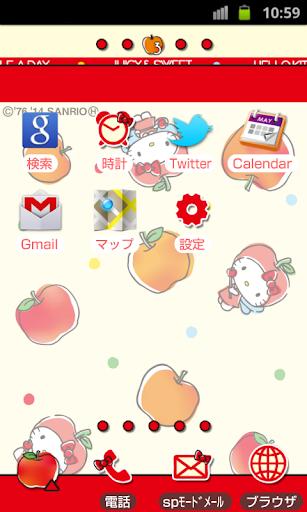玩免費個人化APP|下載ハローキティきせかえホーム(KT135) app不用錢|硬是要APP