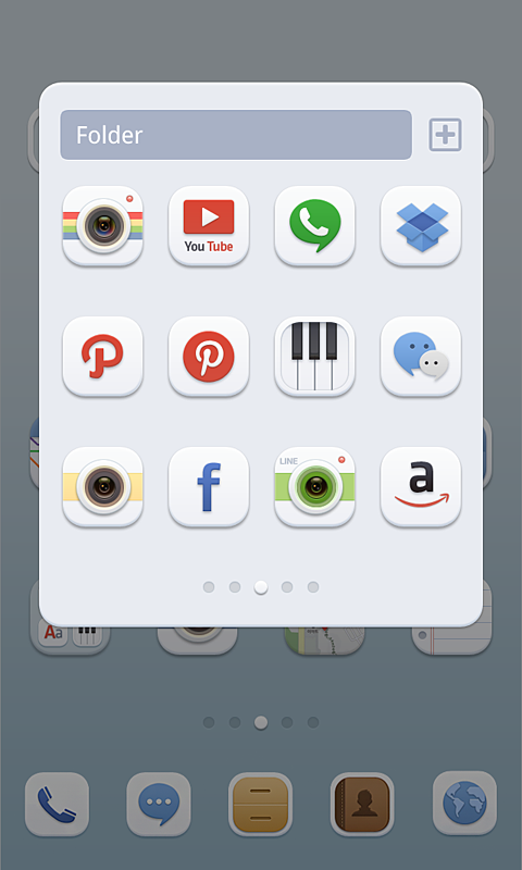 Soft Button dodol theme - screenshot