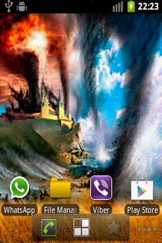 Twister Live Wallpaper
