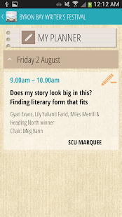 Byron Bay Writers Festival- screenshot thumbnail