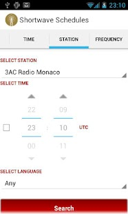 Shortwave Radio Schedules- screenshot thumbnail